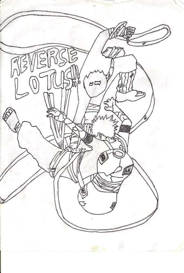 Reverse lotus by Dethklok91 on DeviantArt