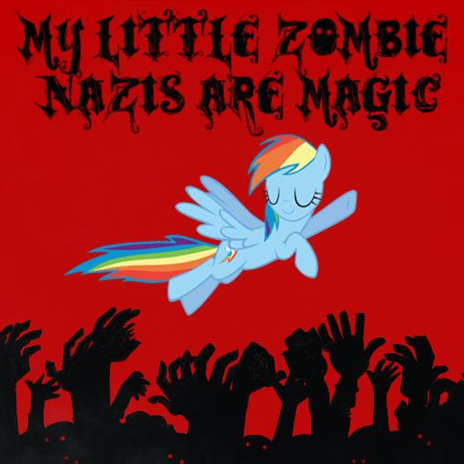 Wallpaper Art Falling Mlp Nazi Zombies By Narutofan1010 On Deviantart