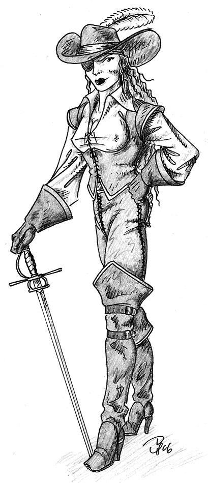 Sexy Pirate Woman by Tensen01 on DeviantArt
