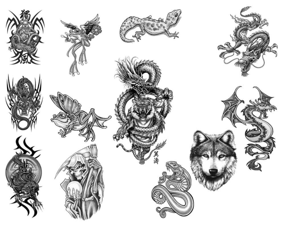 Photoshop Tattoo Brushes Pack by rkoyuki on DeviantArt