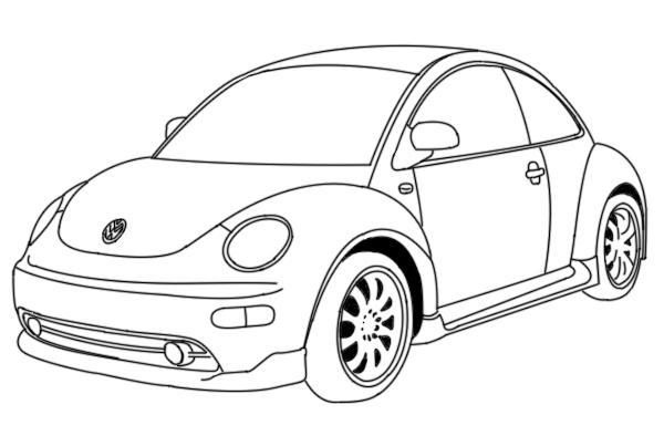 VW Beetle by MahKuh on DeviantArt