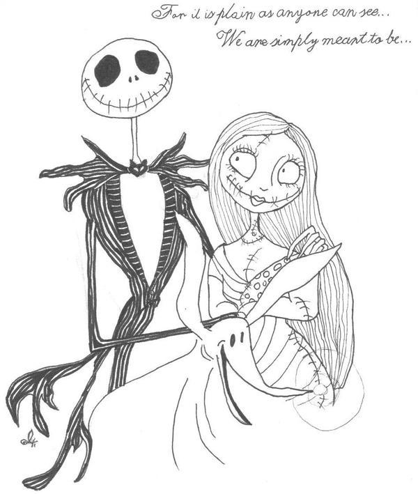 Jack and Sally by babychild on DeviantArt