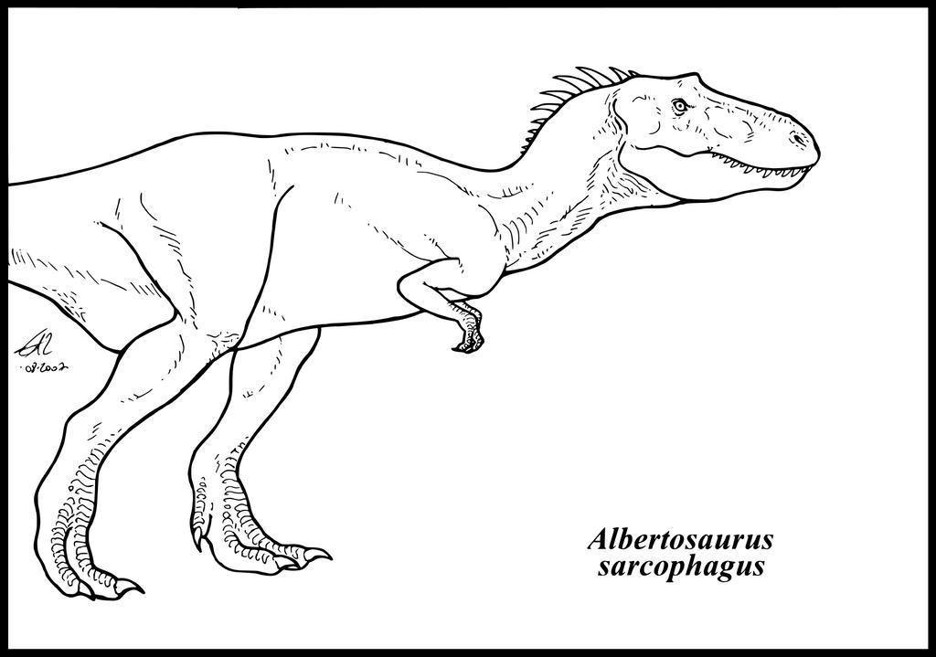 Albertosaurus sarcophagus by zakafreakarama on DeviantArt