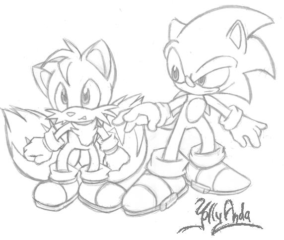 Sonic and Tails by Yolly-anda on DeviantArt