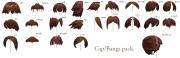 mmd- bangs-cap pack -dl mmdfakewings18