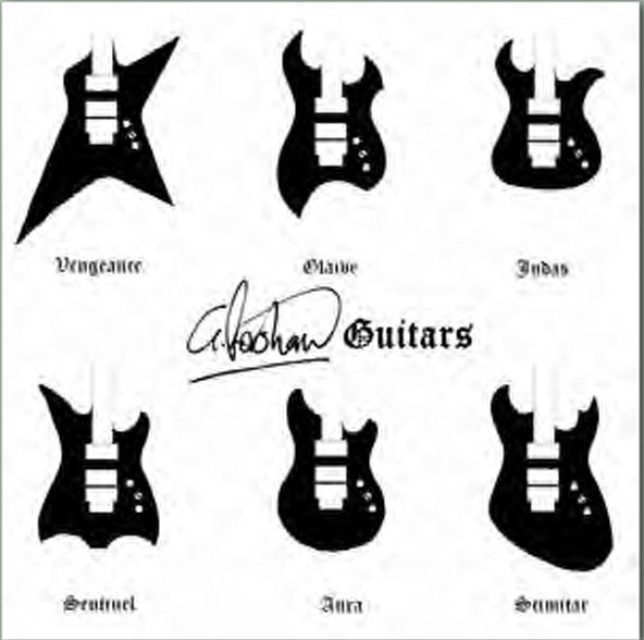 G. Foreshaw Guitar Designs by Guitarmads on DeviantArt