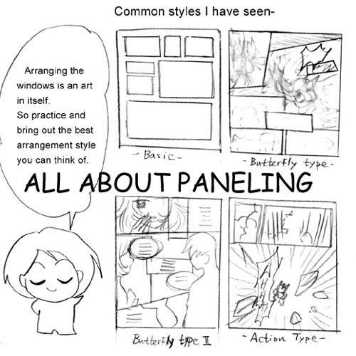 Paneling tips for manga by mayshing on DeviantArt