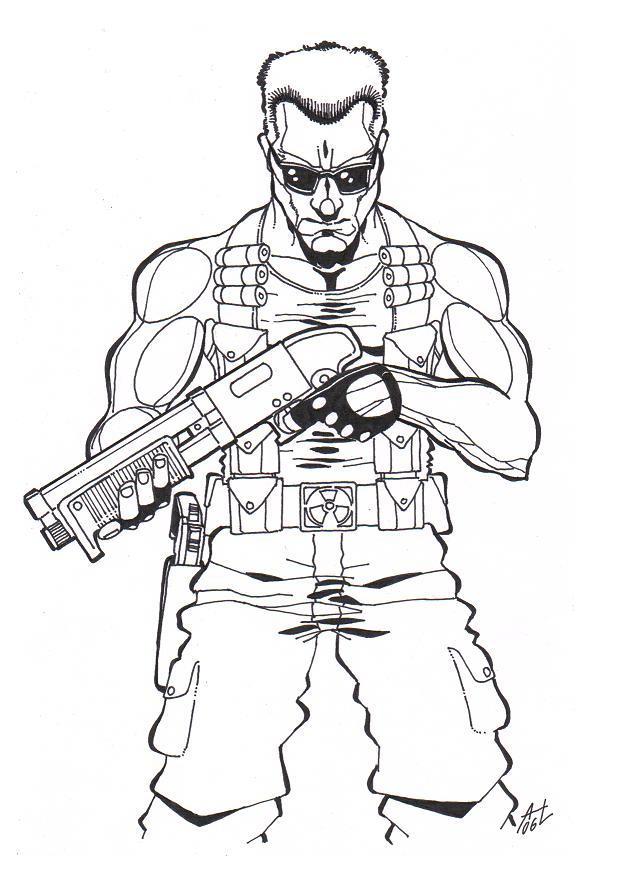 -Duke Nukem- by DeadCamper on DeviantArt