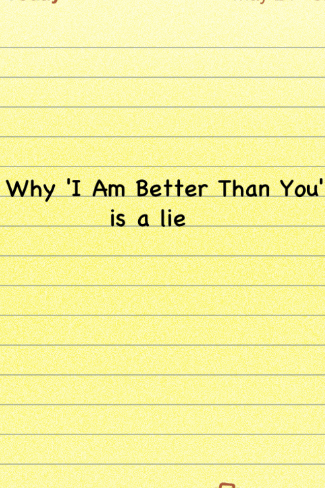 why i am better