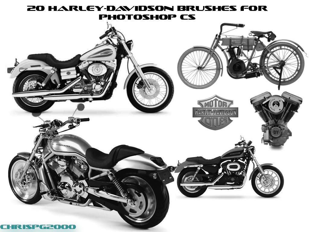 Harley-Davidson Brushes by chrispg2000 on DeviantArt