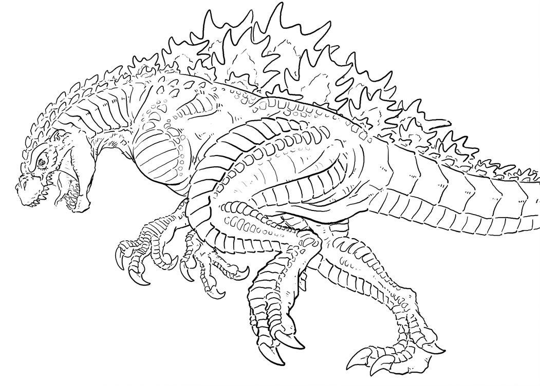 Godzilla revamped by Art-Minion-Andrew0 on DeviantArt