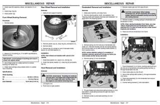 JOHN DEERE REPAIR MANUAL STX30 STX38 STX46 ON CD