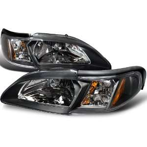 1996 Ford Mustang GT Headlights