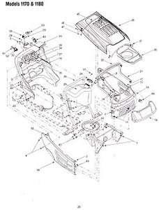 White GT2055 garden tractor lawnmower briggs engine 20hp