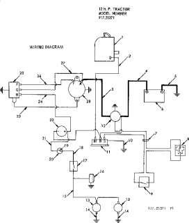 MTD Lawn tractor Wiring diagram tecumseh Parts Model
