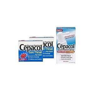 Cepacol Sore Throat from Post Nasal Drip Cherry 18 ea