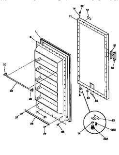 Kenmore Upright Freezer 7 5 Cubic Foot Model 564 28702700