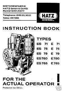 HATZ DIESEL STARTERPULT MC 714