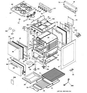 Gas Oven: Hotpoint Gas Oven Parts