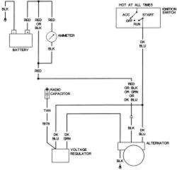 Delco Alternator 3 Wire Plug Wiring Diagram, Delco, Free
