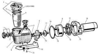Barry Grant Fuel Pump Seal Kit BG Pumps 220 280 400