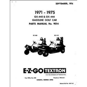 textron ez go parts (fc) on PopScreen