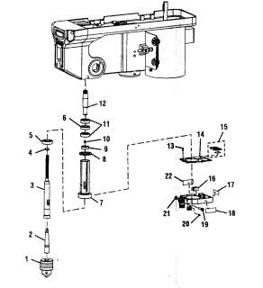 Craftsman DRILL PRESS Mobile Base Manual Model 22252