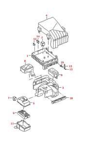OEM UNDER DASH FUSE BOX COVER LEXUS LS400 90 91 94