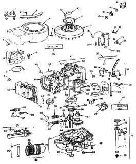 briggs and stratton 6 hp carburetor diagram lungs circulatory system labeled model 135202 engine wiring source parts tree small in addition 5hp lifters 011701 nr as