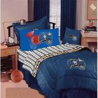 Boys Bedding Blue Sports Theme Full Size Bed Comforter and ...