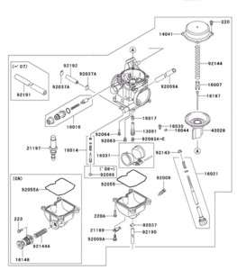 Mikuni 34mm Carb Diagram, Mikuni, Free Engine Image For