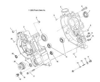 Polaris 500 Ho Engine, Polaris, Free Engine Image For User