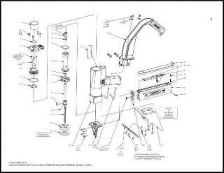 Bostitch N16 FRAMING Nailer Rebuild O Ring Kit