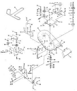 TROY BILT BOLENS MOWER DECK 42 14051 48 14052 MANUAL