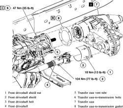 1997 F350 Transfer Case 4x4 7.3 Powerstroke Diesel ZF 5 Speed
