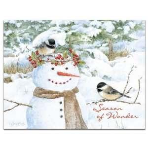 SKETCHBOOK Marjolein Bastin BOXED Christmas Cards JOY Cardinal