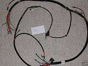 1968 1971 1971 Yamaha DT250 DT1 RT1 Main Wiring Harness