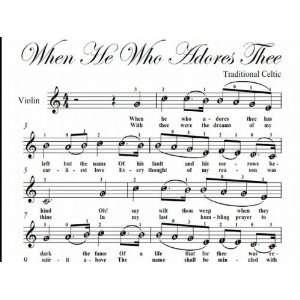 Easy Violin Sheet Music Traditional Folk Song Books
