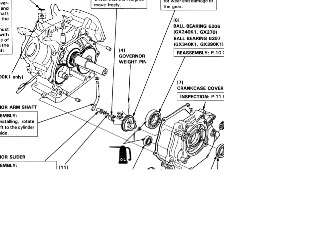 Honda GX270 GX390 engine workshop manual 9HP & 13HP