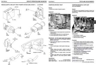 JOHN DEERE REPAIR MANUAL GX325 GX335 GX345