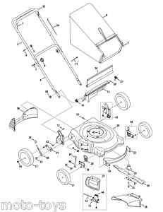 Troy Bilt Trailblazer Sickle Mower Bar Kit (P406732, GW