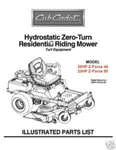 Cub Cadet Zero Turn Riding Lawn Mower with 50 Deck 22 HP