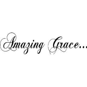 Amazing Grace Wall Words Pictures to Pin on Pinterest