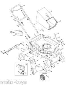 CUB CADET MODELS 70 100 MOWER DECK SERVICE MANUAL