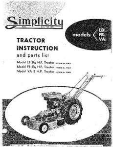 Bolens Ridemaster Garden Tractor Owner Manual Parts List