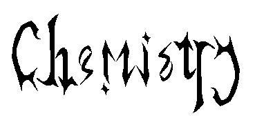 Ambigram : Chemistry by MuIeN on DeviantArt