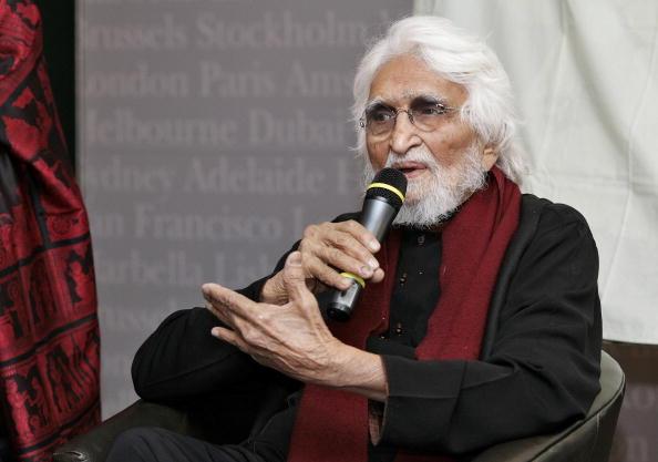 92-year-old Indian artist Maqbool Fida H