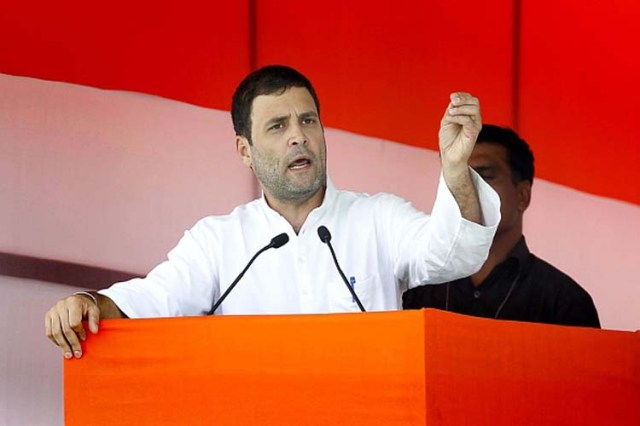 मोदी के आंसू सच्चे हैं तो विश्वविद्यालय के कुलपति को हटाएं: राहुल गांधी