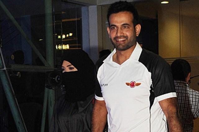 IPL सेरेमनी में बीवी के संग इस अंदाज में पहुंचे इरफान कि सब चौंके!