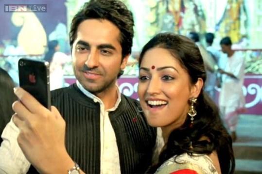 Selfie on Ashtami. Source ~ Ibnlive.com
